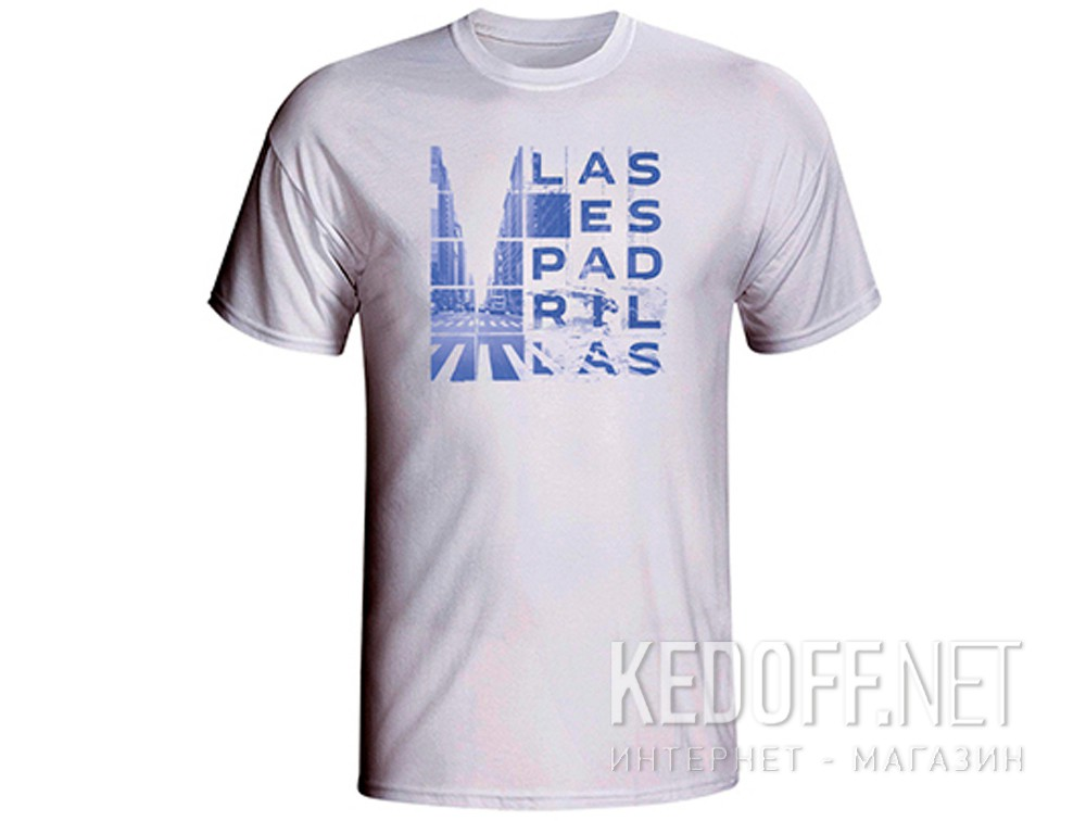 Купить Мужские футболки Las Espadrillas 405107-F255   (белый)