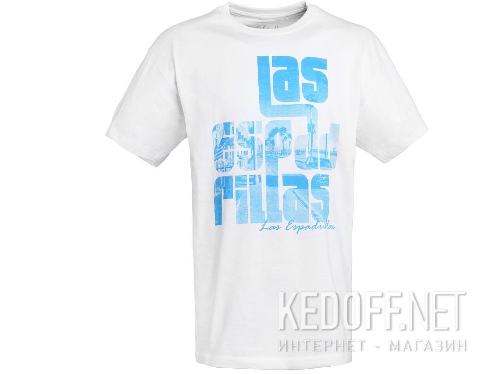 Купить Мужские футболки Las Espadrillas 405112-F255   (белый)