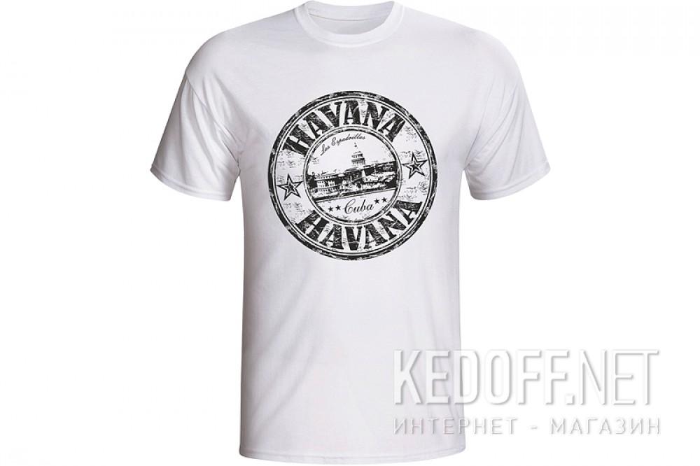 Мужские футболки Las Espadrillas 1653-F255   (белый) купить Украина