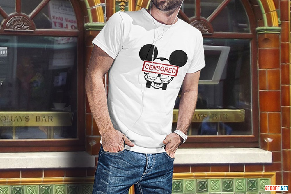 Футболка Las Espadrillas Mickey Mouse 405101-F255