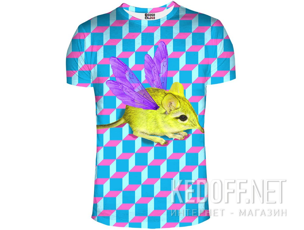 Купить Футболки Mr. Gugu & Miss Go 1042-3424 унисекс   (розовый/голубой)