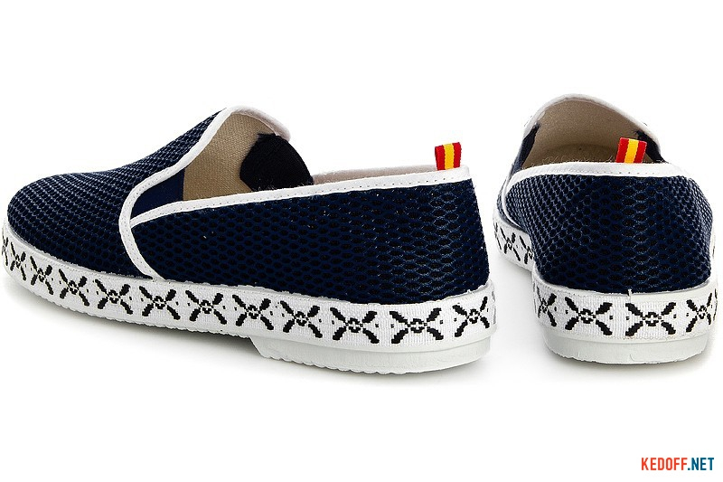 Summer men's moccasins Las Espadrillas Fv5032-2 Made in Spain