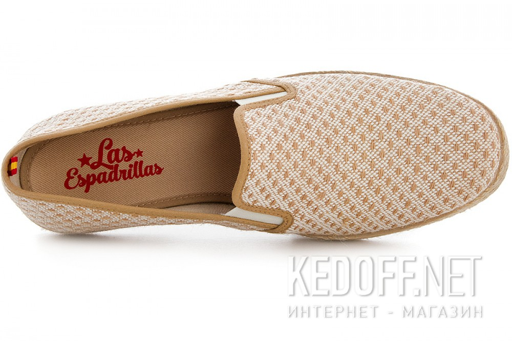 Цены на Мокасины Las Espadrillas FV5063 Made in Spain