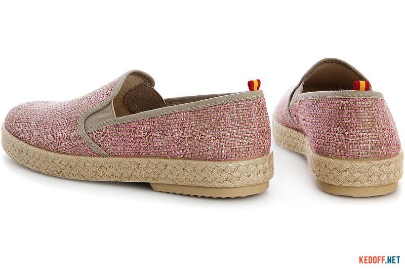 Spanish moccasins Las Espadrillas Fv5563 Pink