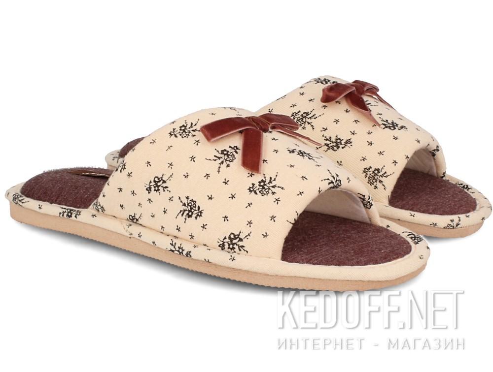 Домашние тапочки Gemelli 14021-18  (песочный) купить Киев