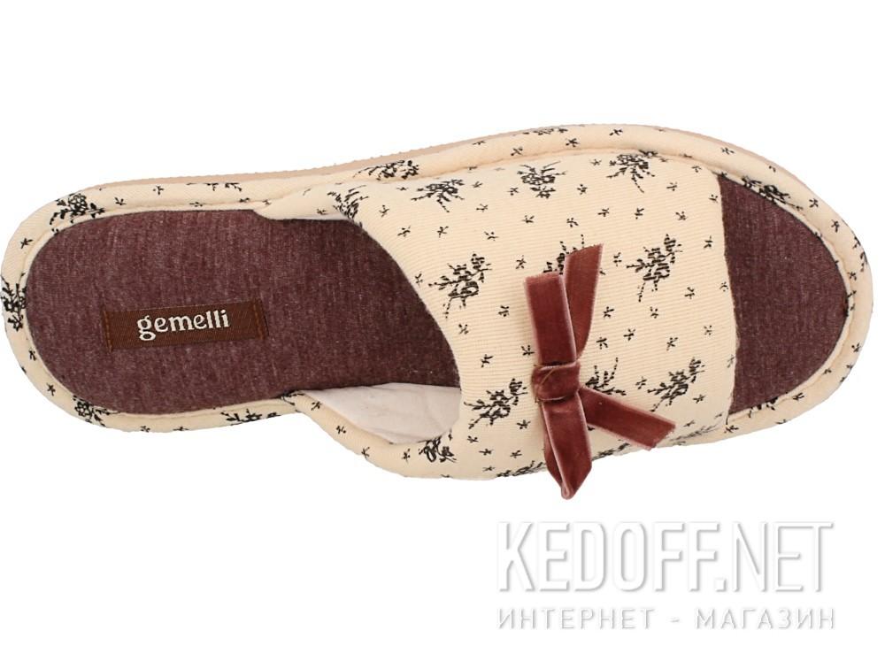 Оригинальные Домашние тапочки Gemelli 14021-18  (песочный)