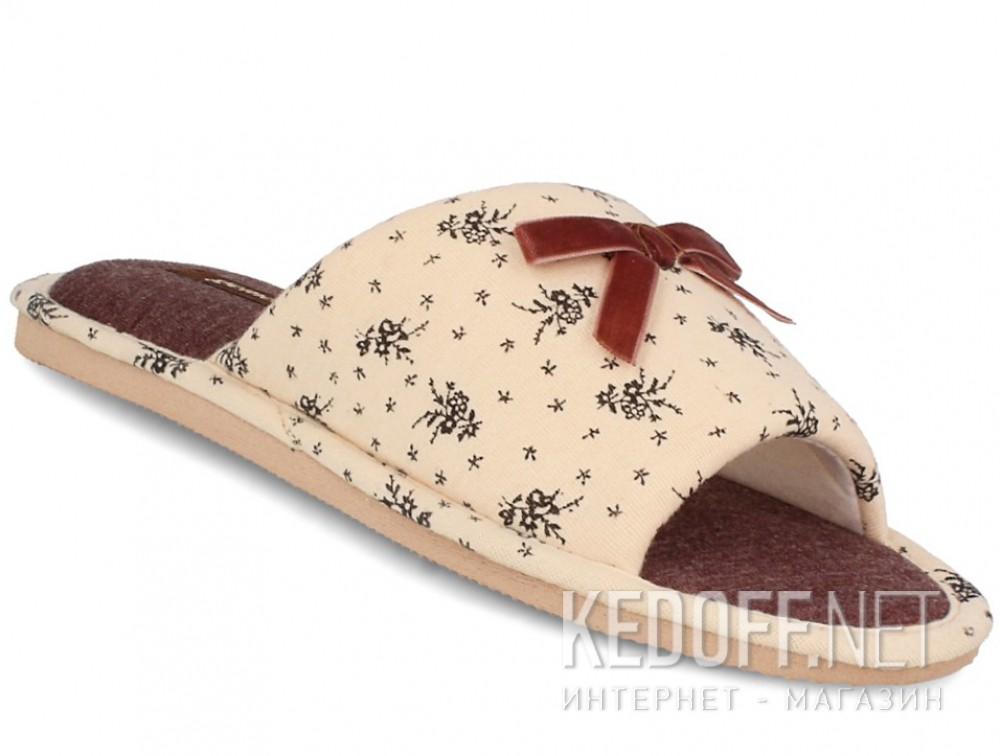 Купить Домашние тапочки Gemelli 14021-18  (песочный)