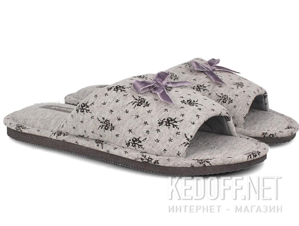 Женские шлепанцы Gemelli 14021-37 (серый) купить Киев