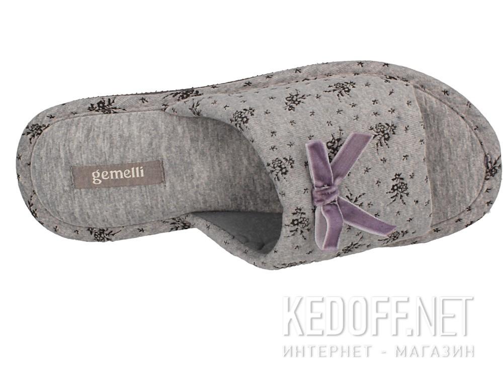 Оригинальные Женские шлепанцы Gemelli 14021-37 (серый)