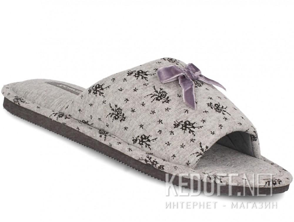 Купить Женские шлепанцы Gemelli 14021-37 (серый)