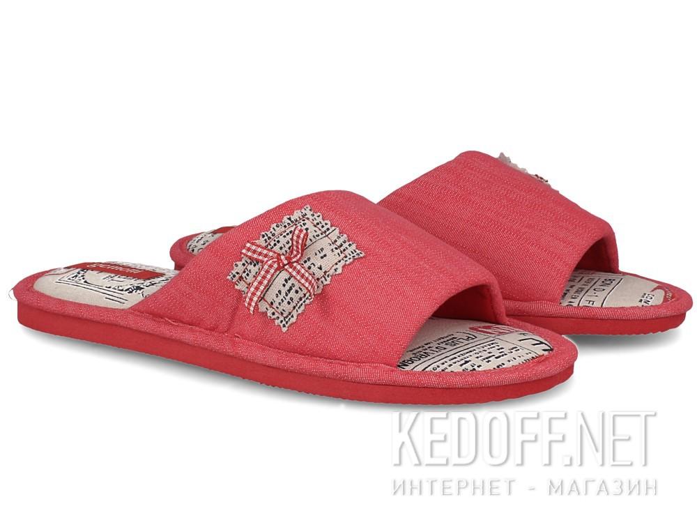 Женские шлепанцы Gemelli 1601357-34 (розовый) купить Киев