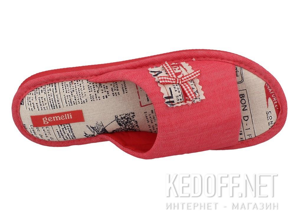 Женские шлепанцы Gemelli 1601357-34 (розовый) описание