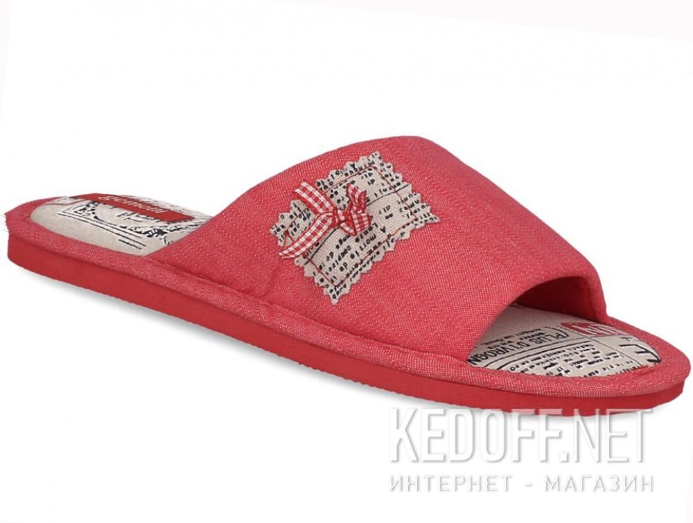 Купить Женские шлепанцы Gemelli 1601357-34 (розовый)