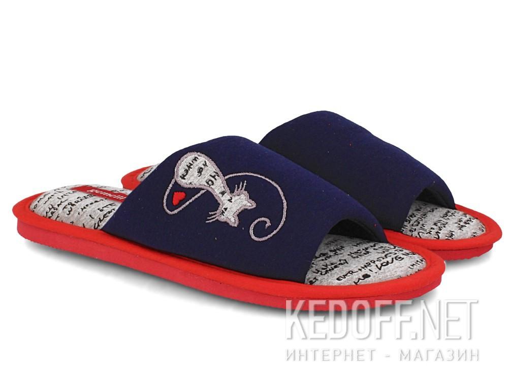 Женские шлепанцы Gemelli 1601484-89 (тёмно-синий) купить Киев