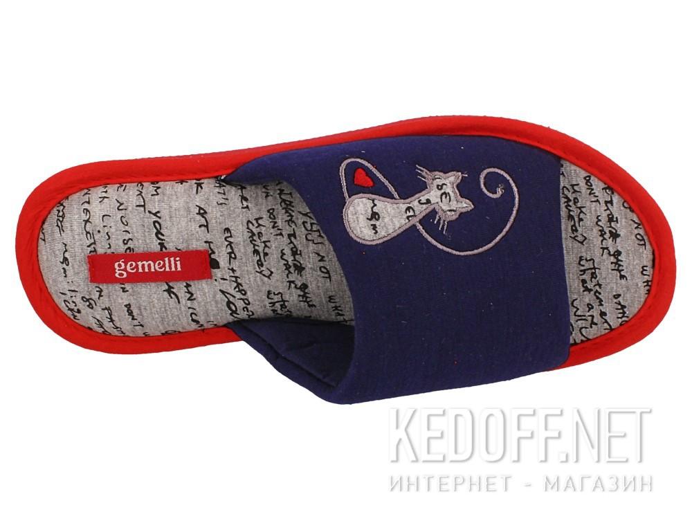 Оригинальные Женские шлепанцы Gemelli 1601484-89 (тёмно-синий)