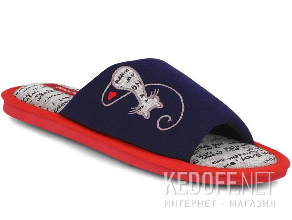 Купить Женские шлепанцы Gemelli 1601484-89 (тёмно-синий)