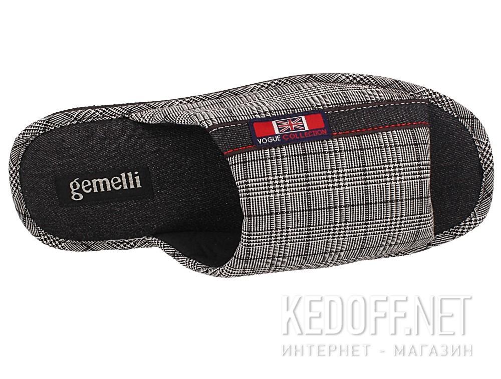 Мужские тапочки Gemelli 160634-45   (коричневый)
