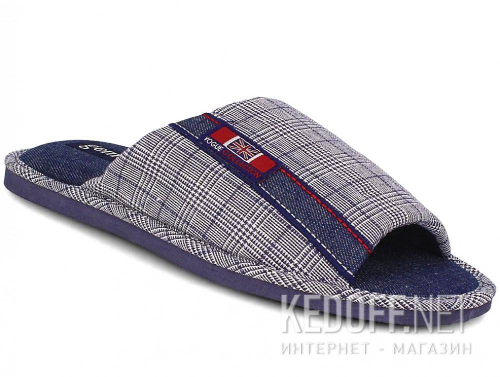 Купить Мужские тапочки Gemelli 160634-3789 (синий)