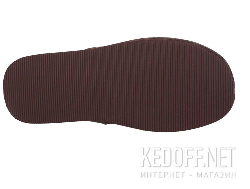 Оригинальные Мужские тапочки Gemelli 160750-45 (тёмно-коричневый)