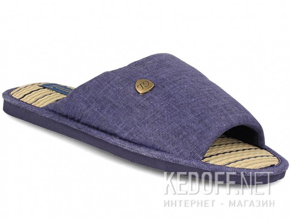 Купить Мужские тапочки Gemelli 160750-89 (тёмно-синий)