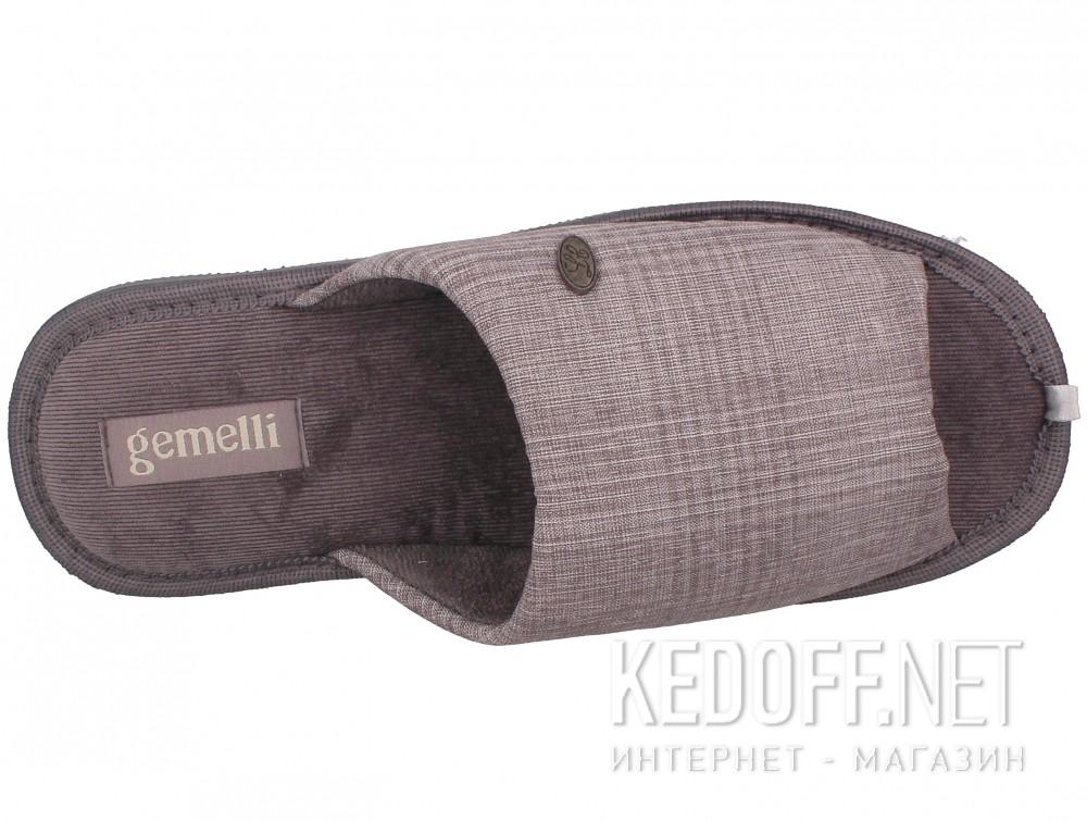 Оригинальные Мужские тапочки Gemelli 2237-37 (серый)