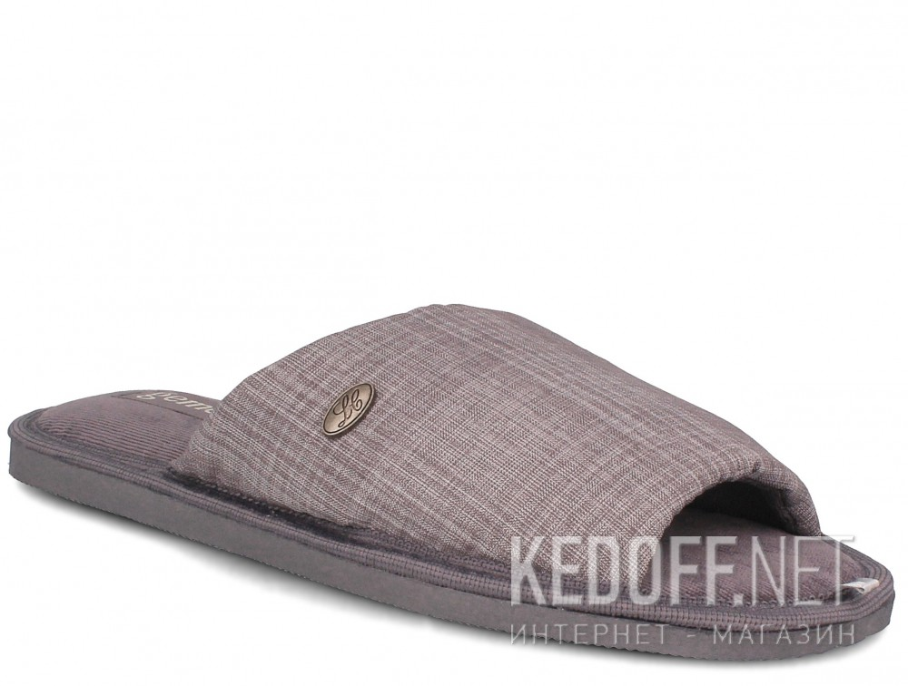 Купить Мужские тапочки Gemelli 2237-37 (серый)