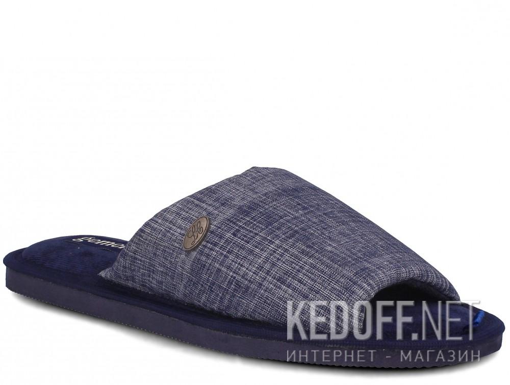 Купить Мужские тапочки Gemelli 2237-89 (тёмно-синий)