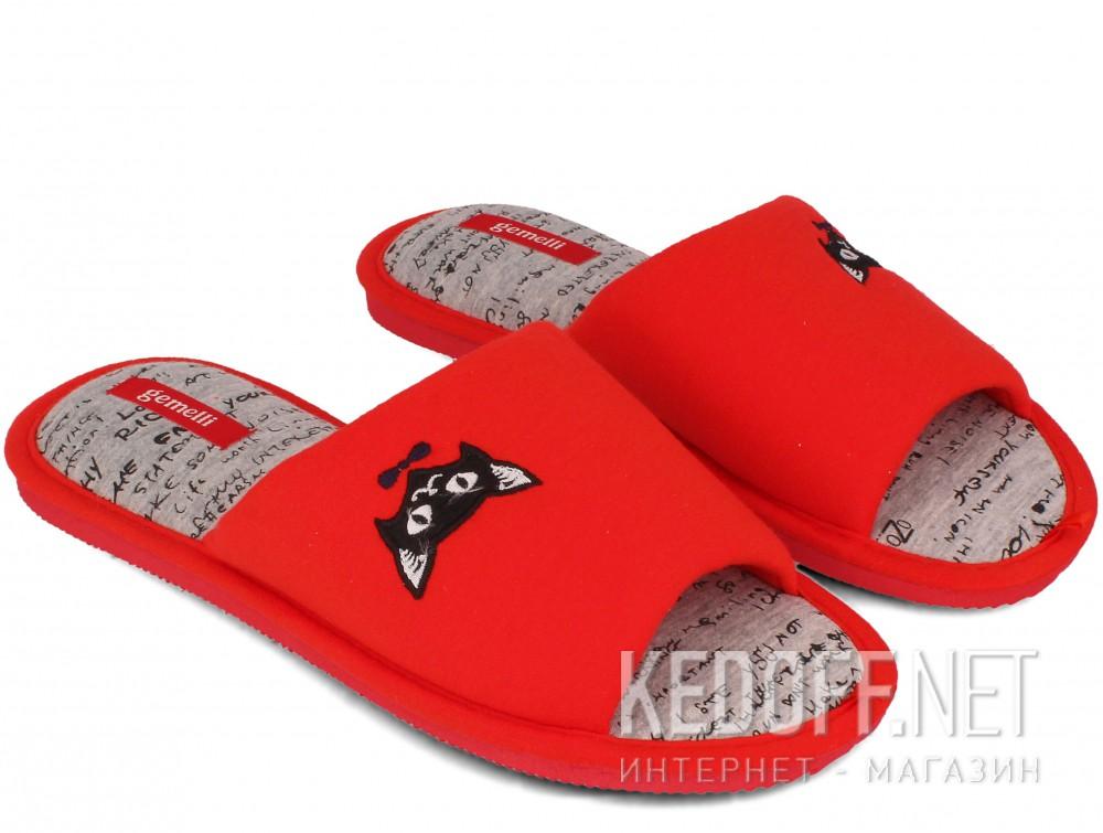 Женские шлепанцы Gemelli 17030-47 (красный) купить Украина
