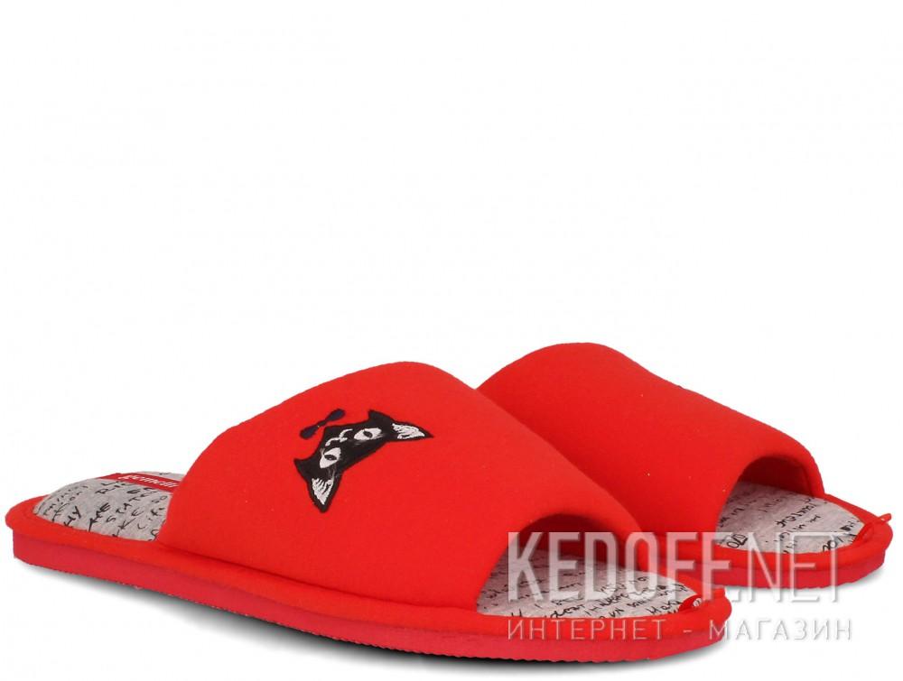 Женские шлепанцы Gemelli 17030-47 (красный) купить Киев