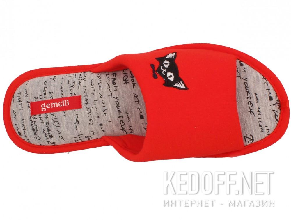 Оригинальные Женские шлепанцы Gemelli 17030-47 (красный)