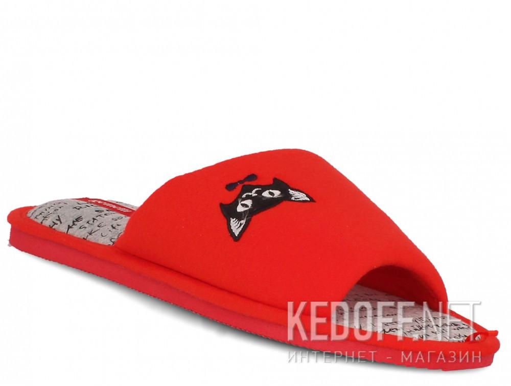 Купить Женские шлепанцы Gemelli 17030-47 (красный)