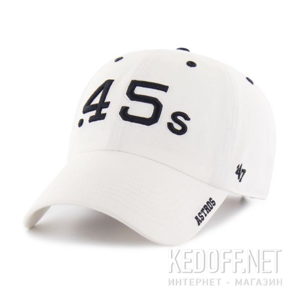 b492eb30c8df2 Shop Baseball cap 47 Brand Ice Clean Up Houston Astros BCPTN-ICE10GWS-WH62  at Kedoff.net - 30042