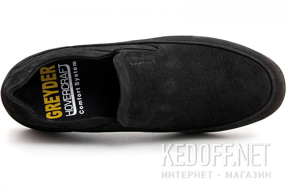 Мужские комфорт Greyder 02222-5081   (чёрный) описание