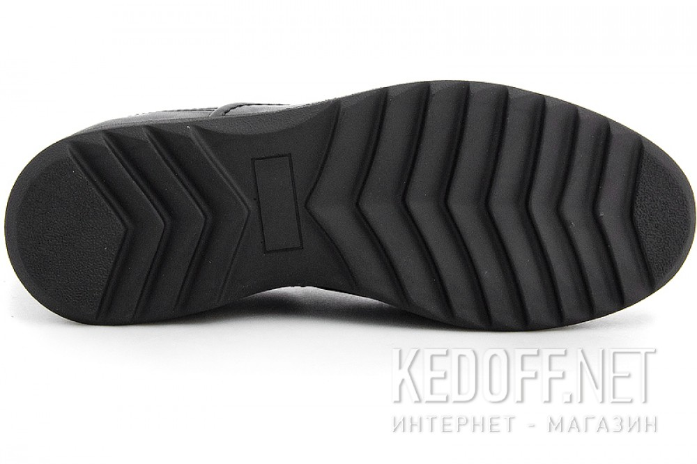 Чоловічі туфлі Greyder 02743-431 Чорна шкіра.