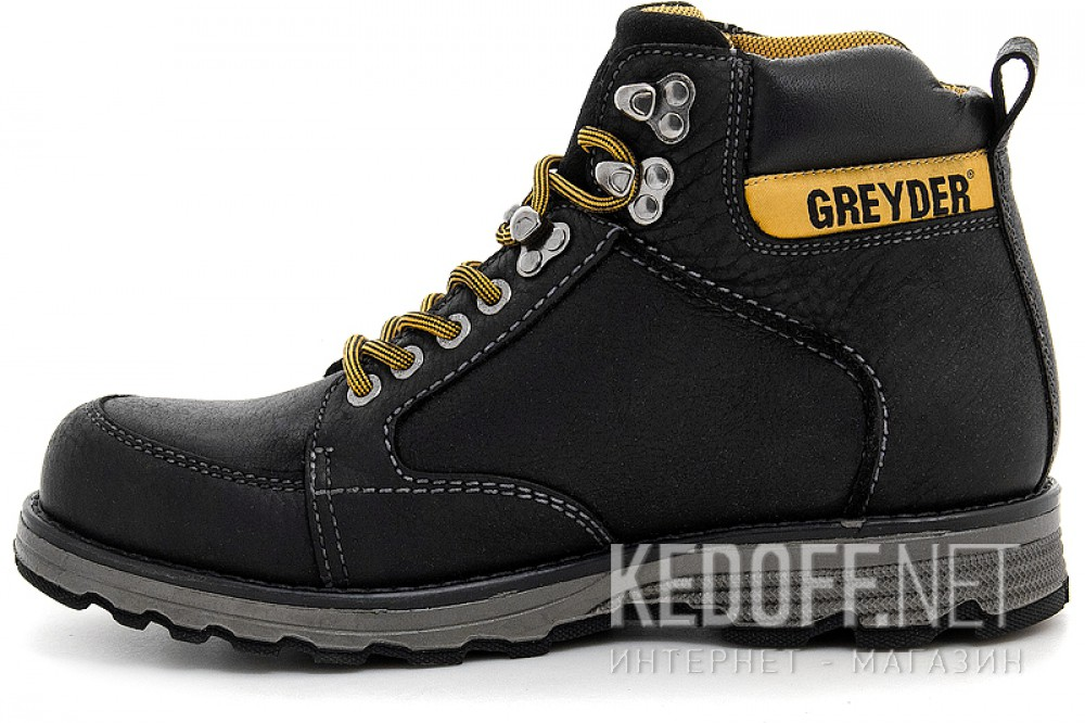 Черевики Greyder 10430-5271 Чорні