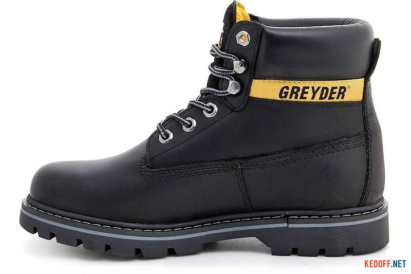 Черевики Greyder 10450-5651Чорна шкіра