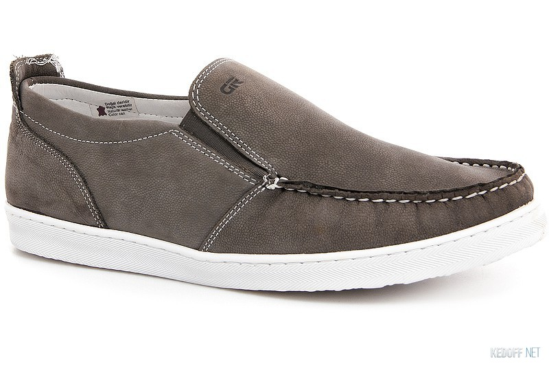 Men sneakers Greyder - 1681-269 Grey nubuk