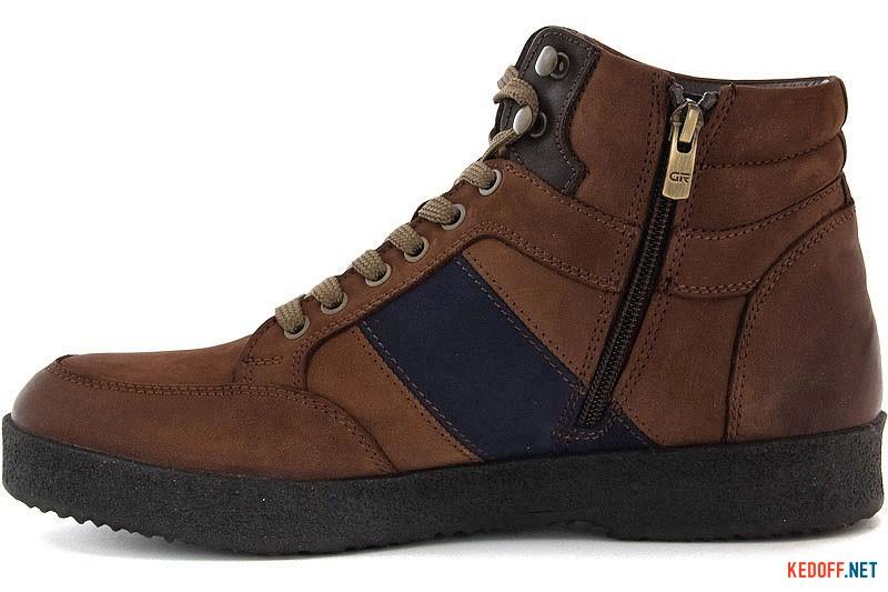 Мужские ботинки Greyder 3020-5307 Светлокоричневая кожа