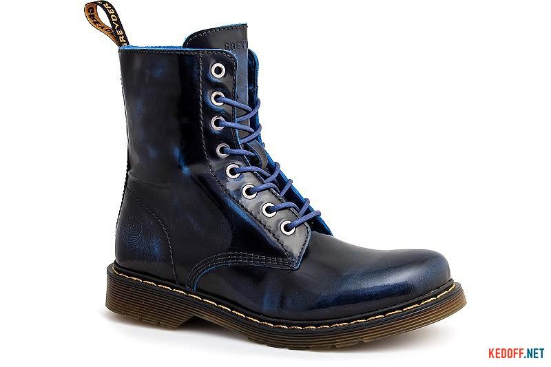 Ботинки Greyder 3390-1648 Темносиняя состареная кожа