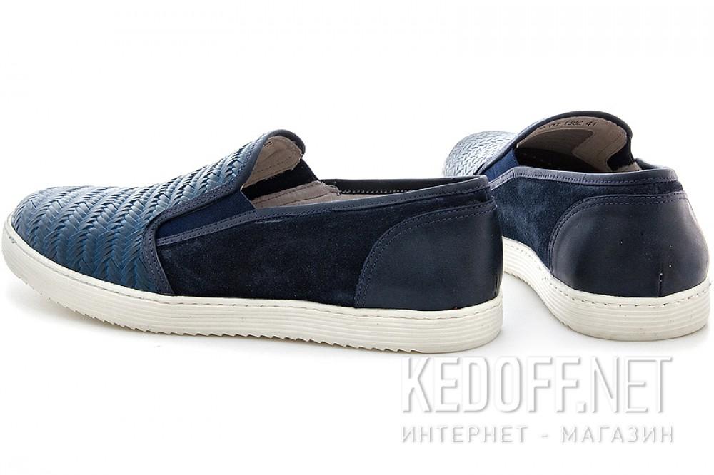 Мужские слипоны Greyder 3770-51382   (тёмно-синий) купить Украина