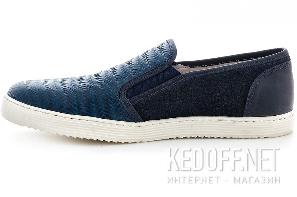 Мужские слипоны Greyder 3770-51382   (тёмно-синий) купить Киев
