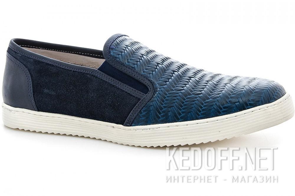 Купить Мужские слипоны Greyder 3770-51382   (тёмно-синий)