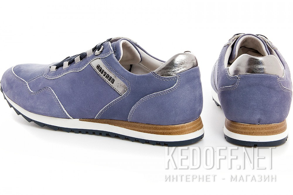 Mens sneakers Greyder 3782-51362 Indigo denim leather