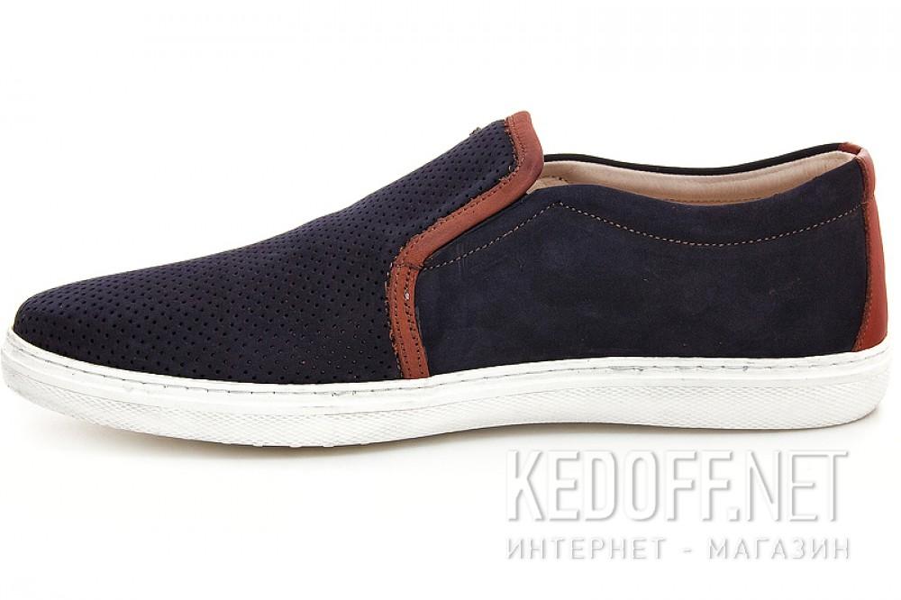 Слипоны Greyder 8012-2   (тёмно-синий) купить Киев