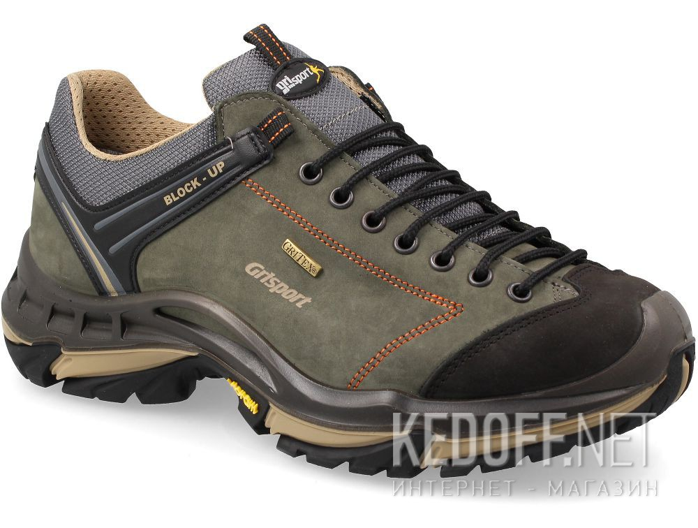 Мужские кроссовки Grisport SpoTex Vibram  11927N92tn Made in Italy
