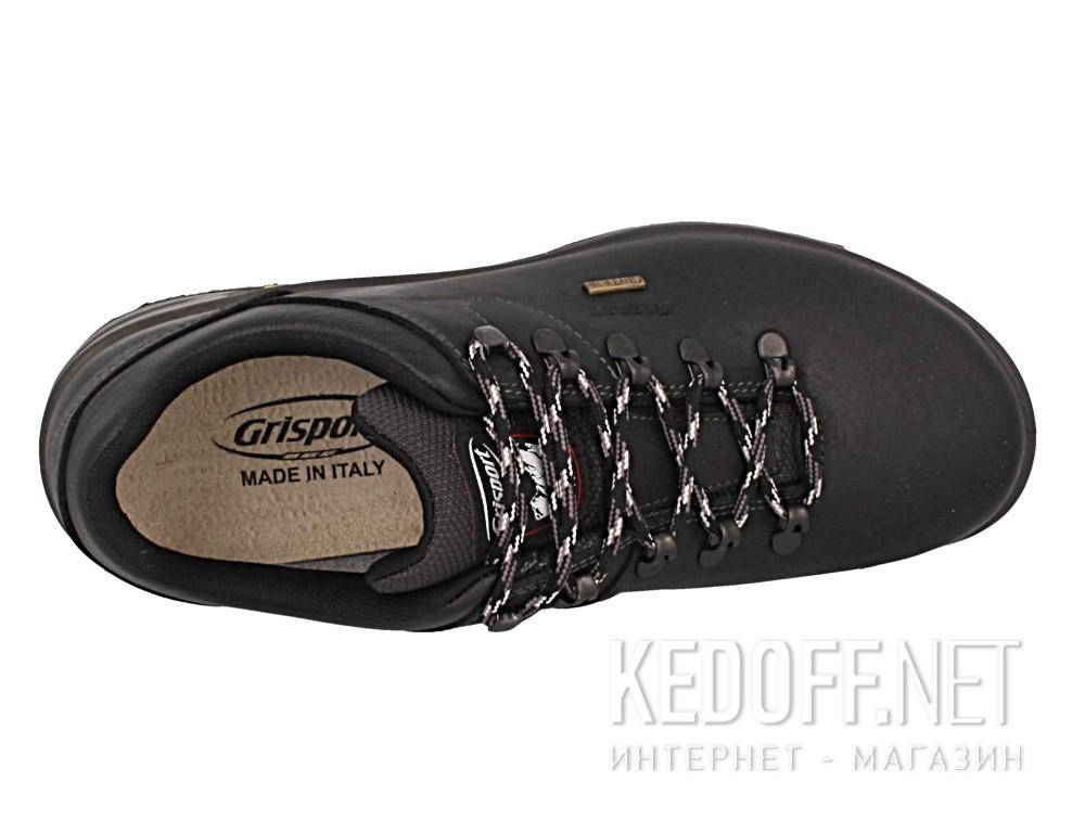 Мужские комфорт Grisport Gritex Vibram 12817-D6g Made in Italy   (чёрный)