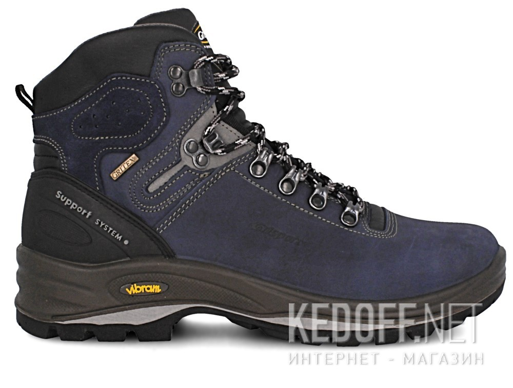 Мужские ботинки Grisport Gritex Vibram 12833-N20g Made in Italy   (синий) купить Киев