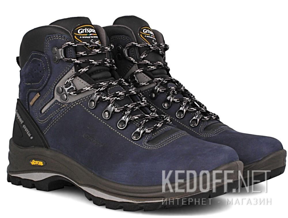 Оригинальные Мужские ботинки Grisport Gritex Vibram 12833-N20g Made in Italy   (синий)
