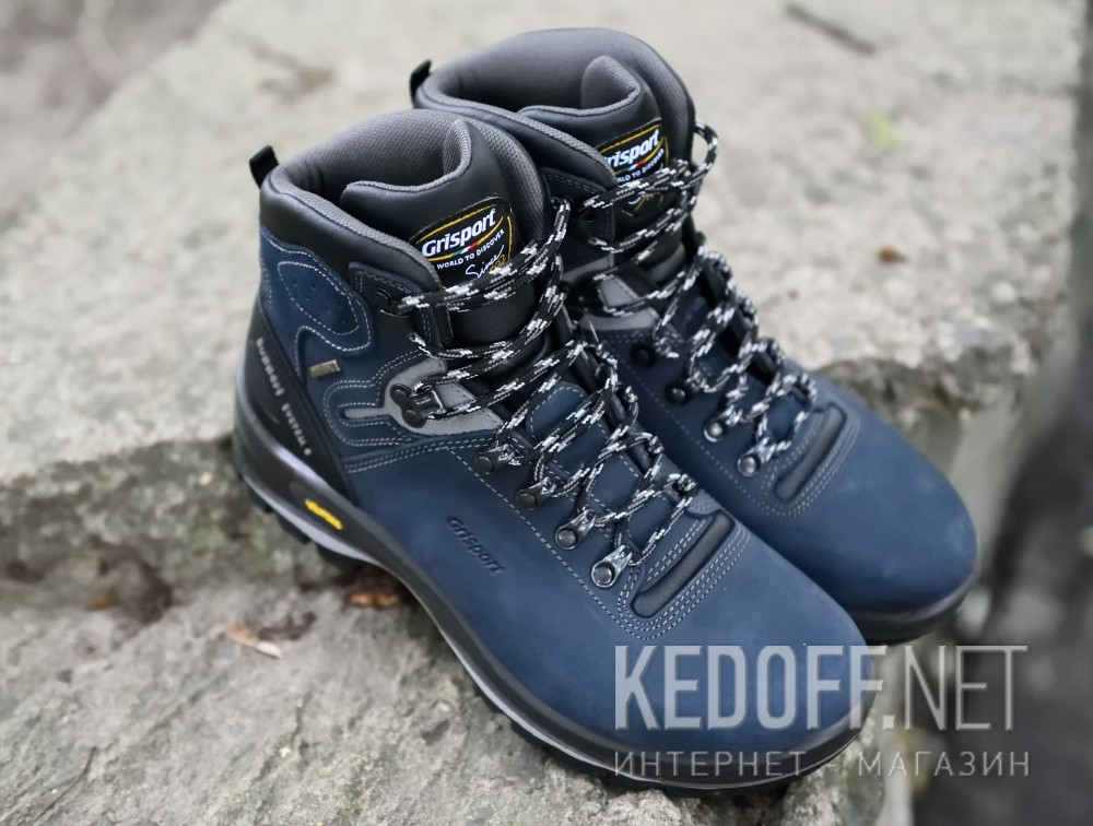 Доставка Мужские ботинки Grisport Gritex Vibram 12833-N20g Made in Italy   (синий)