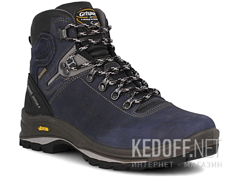 Купить Мужские ботинки Grisport Gritex Vibram 12833-N20g Made in Italy   (синий)